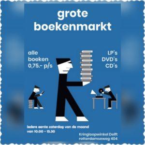 Read more about the article Boekenmarkt zaterdag 2 Oktober